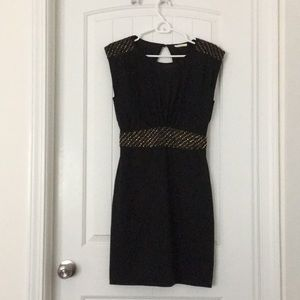 Little Black Dress with Beaded Accents